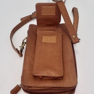 Boulder Ridge Bags - Travel Bag BOULDER RIDGE Crossbody Bag Leather